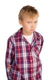 Shy Boy Stock Photo