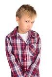 Shy Boy Stock Image