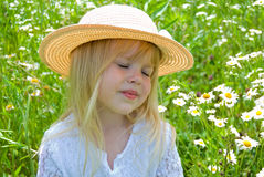 Shy Child Royalty Free Stock Photo
