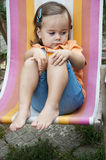 Shy child Royalty Free Stock Photography