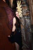Shy Fairy Royalty Free Stock Image