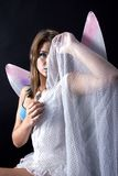 Shy fairy Royalty Free Stock Image