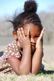 Shy Girl Stock Image