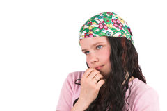 Shy girl Royalty Free Stock Photos