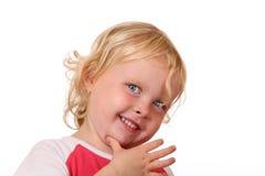 Shy girl Stock Photography