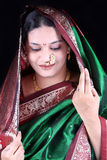 Shy Indian Stock Photo