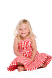 Shy little girl Royalty Free Stock Photography