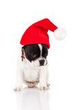 Shy little santa Royalty Free Stock Image