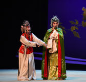 "Shy not language-Cui Yingying 's disease-Kunqu Opera ""the West Chamber"" Stock Images"