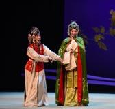 """Shy not language-Cui Yingying 's disease-Kunqu Opera """"the West Chamber"""". In May 17, 2015, the Suzhou Kunqu opera classic Kunqu Opera Xixiangji staged in Stock Images"""