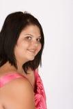 Shy smile Royalty Free Stock Photo