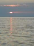 Shy sunset Royalty Free Stock Photography