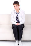 Shy Teenager Royalty Free Stock Images