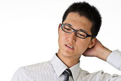 Free Shy Young Business Man Stock Photography - 14573072