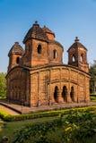 Shyam Rai寺庙在Bishnupur 库存照片