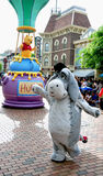 Shying Eeyore from Winney the pooh Royalty Free Stock Photography