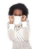 Shyness stockfoto