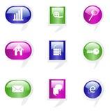 Shyni icons Stock Photos