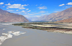 Shyok river Stock Images