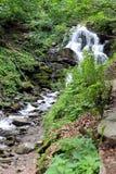 Shypit vattenfall Fotografering för Bildbyråer