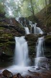 Shypit waterfall in Carpathian mountains Royalty Free Stock Image