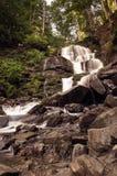 Shypit Waterfall, Pylypets River Karpathians, Ukraine 2016 Stock Photos