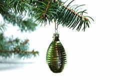 Siècle 20 de décoration de Noël mi Images libres de droits