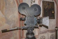 siècle dernier d'appareil-photo de la cinématographie 35-millimètre Image libre de droits