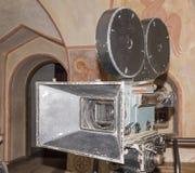 siècle dernier d'appareil-photo de la cinématographie 35-millimètre Images libres de droits