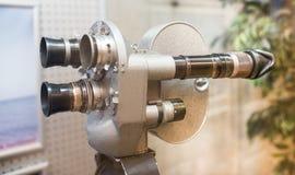 siècle dernier d'appareil-photo de la cinématographie 35-millimètre Image stock