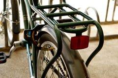 Siège arrière de bicyclette photographie stock