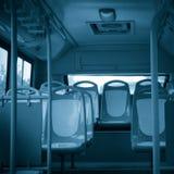 Siège de bus de ville Images libres de droits