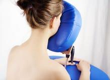 Siège de massage Photographie stock libre de droits