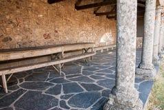 Siège de monastère Image libre de droits