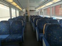 Siège de train Photo libre de droits