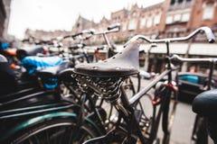 Siège de vélo image stock