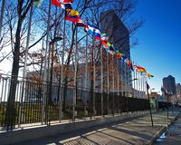 Siège social de nation unie dans NYC Photo stock