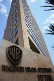 Siège social de Warner Bros. en Californie Images libres de droits