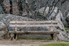 Siège solitaire de bois Image stock