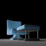 Siège unique - sofa illustration stock