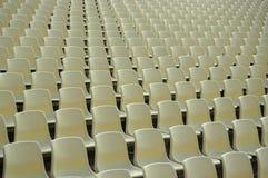 Sièges au stade Photos libres de droits