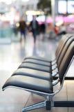 Sièges d'aéroport Images stock