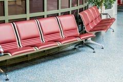 Sièges d'aéroport Photographie stock libre de droits