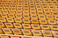 Sièges d'un stade Image libre de droits