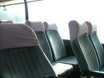 Sièges dans un bus Images libres de droits