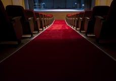 Sièges dans un théâtre et un opéra Images libres de droits