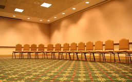 Sièges de conférence photo stock