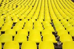 Sièges de stade Images libres de droits