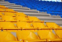 Sièges de stade Photographie stock