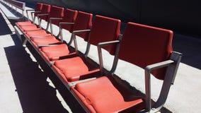 Sièges 5 de stade Photos libres de droits